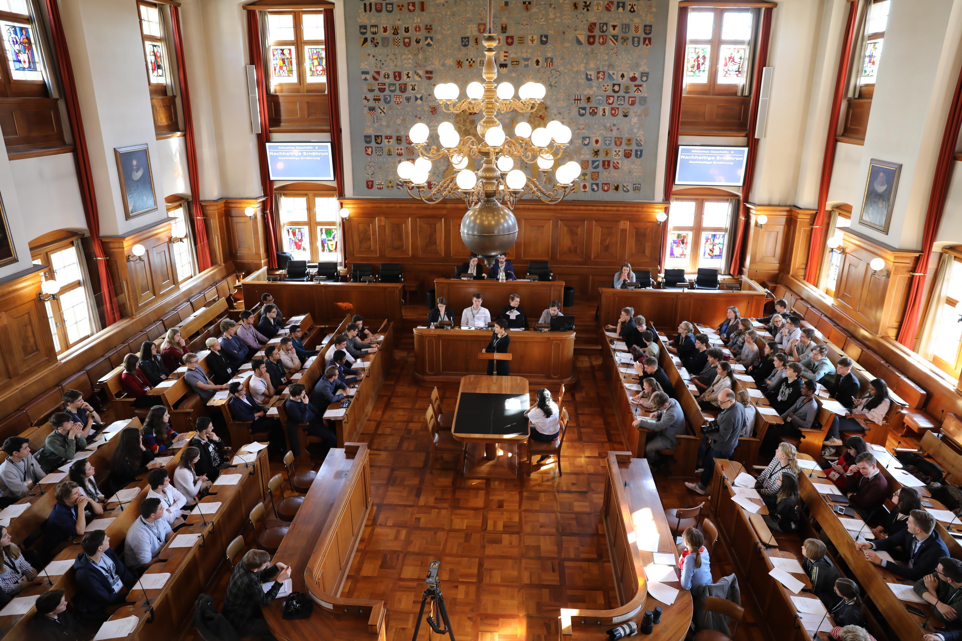 1. Jugendparlamentssitzung