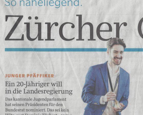 """""""Man weiss nie was passiert"""" Zürcher Oberländer, 14.11.2018"""