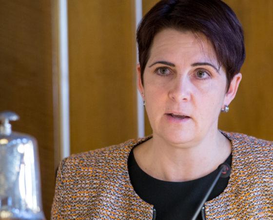 Yvonne Bürgin – CVP-Kantonsrätin (Kantonsratspräsidentin 2018/19), Rüti