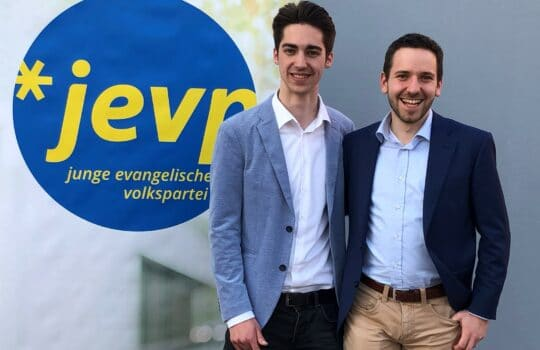 Zum Co-Präsidenten der Jungen EVP Schweiz gewählt