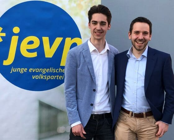 Zum Co-Präsidenten der Jungen EVP CH gewählt