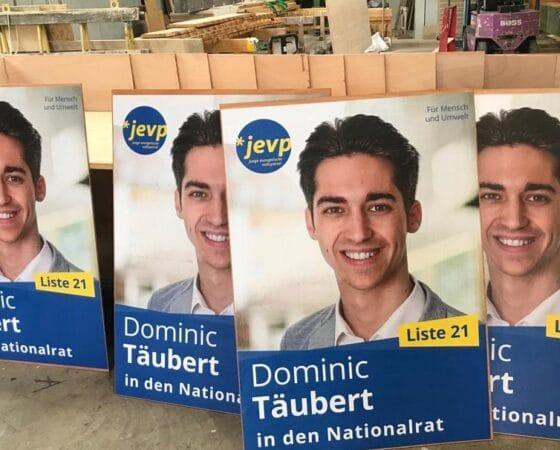 Dominic Täubert in den Nationalrat
