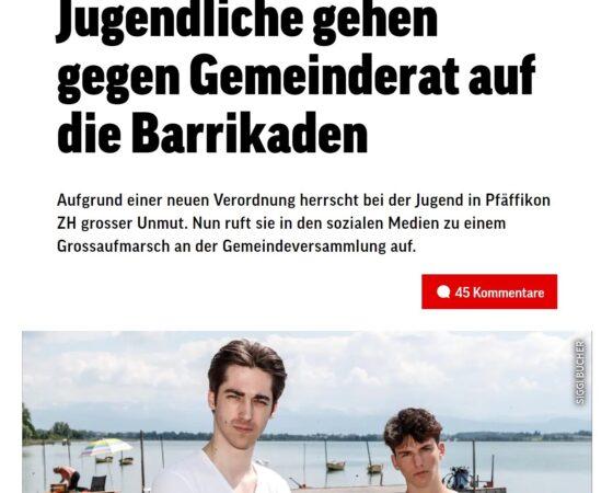 Junge wehren sich gegen Musik-Verbot